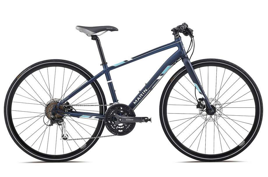 And the all-around winner is ...The Marin Bikes Terra Linda SC4 ($949) from the Novato-based company, which performs well in just about every condition the city can deliver. Photo: Marin Bikes