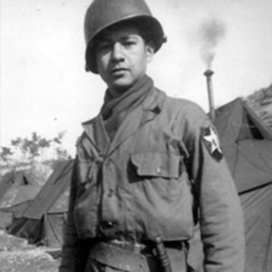 "Medal of Honor nominee Victor H. Espinoza, was born in El Paso, Texas, July 15, 1929. Then-Cpl. Victor H. Espinoza is being recognized for his actions on Aug. 1, 1952, at Chorwon, Korea. While spearheading an attack to secure ""Old Baldy,"" Espinoza's unit was pinned down by withering fire from fortified positions. In daring succession, Espinoza single-handedly silenced a machine-gun and its crew, discovered and destroyed a covert enemy tunnel, and wiped out two bunkers. His actions inspired his unit and enabled them to secure the strong-point against great odds. After leaving the Army, Espinoza resided in El Paso until his death on April 17, 1986. Espinoza is buried at Fort Bliss National Cemetery. In addition to the Medal of Honor, Espinoza received the Distinguished Service Cross (this award will be upgraded to the Medal of Honor on Mar. 18), National Defense Service Medal, Korean Service Medal with one Bronze Service Star, Combat Infantryman Badge, United Nations Service Medal, and Republic of Korea-Korean War Service Medal. Photo: Courtesy Of U.S. Army / Courtesy of U.S. Army"