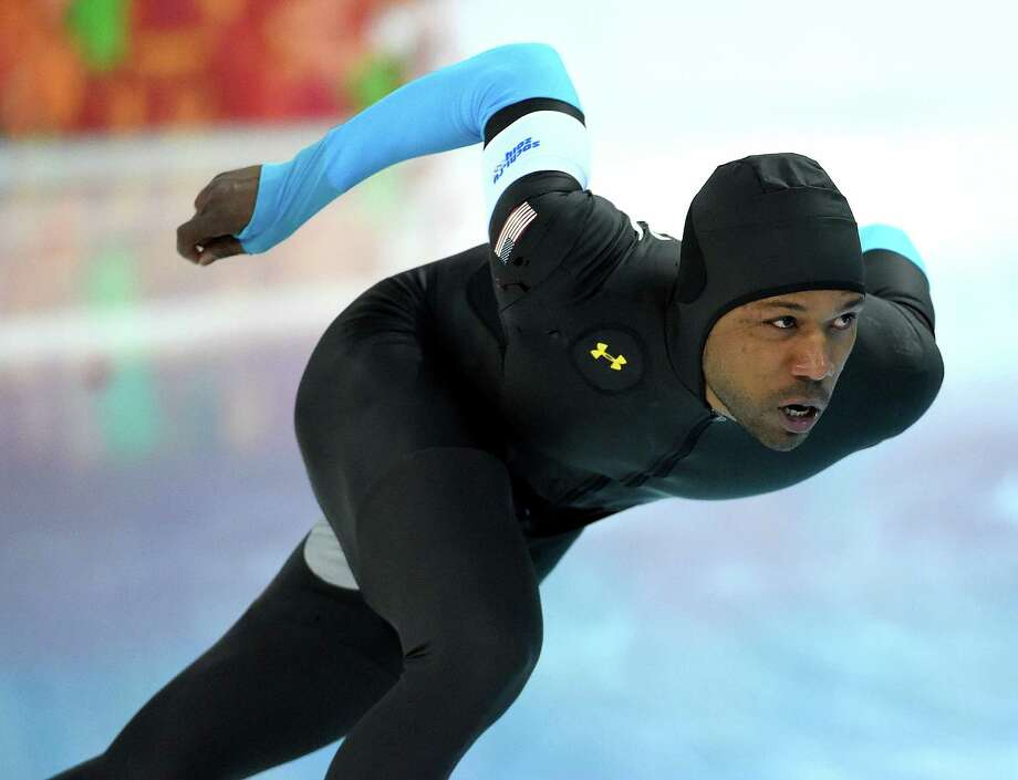 Despite the dismal results of the U.S. speedskaters, including Shani Davis, Under Armour will continue to supply the suits. Photo: Harry E. Walker / Harry E. Walker, Copyright 2012