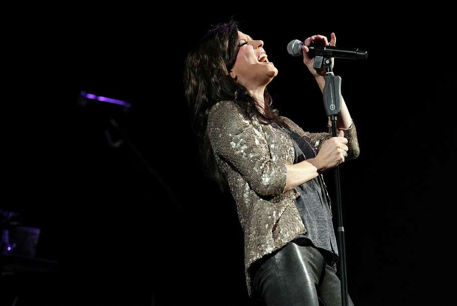 Entertainer Martina McBride performs at the 2014 San Antonio Stockshow & Rodeo on Friday, Feb. 21, 2014. Photo: Kin Man Hui, San Antonio Express-News / ©2013 San Antonio Express-News