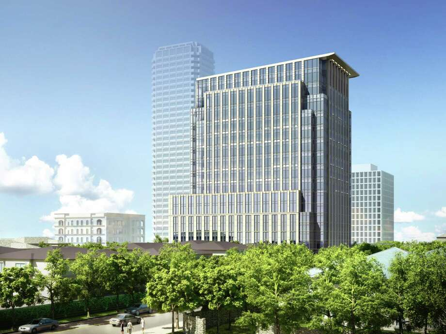 Rendering shows the 2229 San Felipe tower.