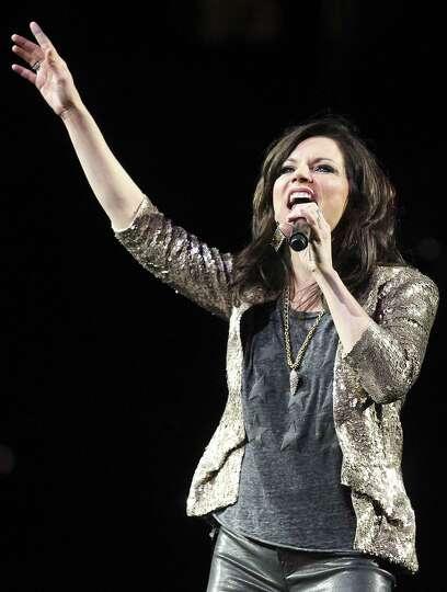 Entertainer Martina McBride performs at the 2014 San Antonio Stockshow & Rodeo on Friday, Feb. 21, 2