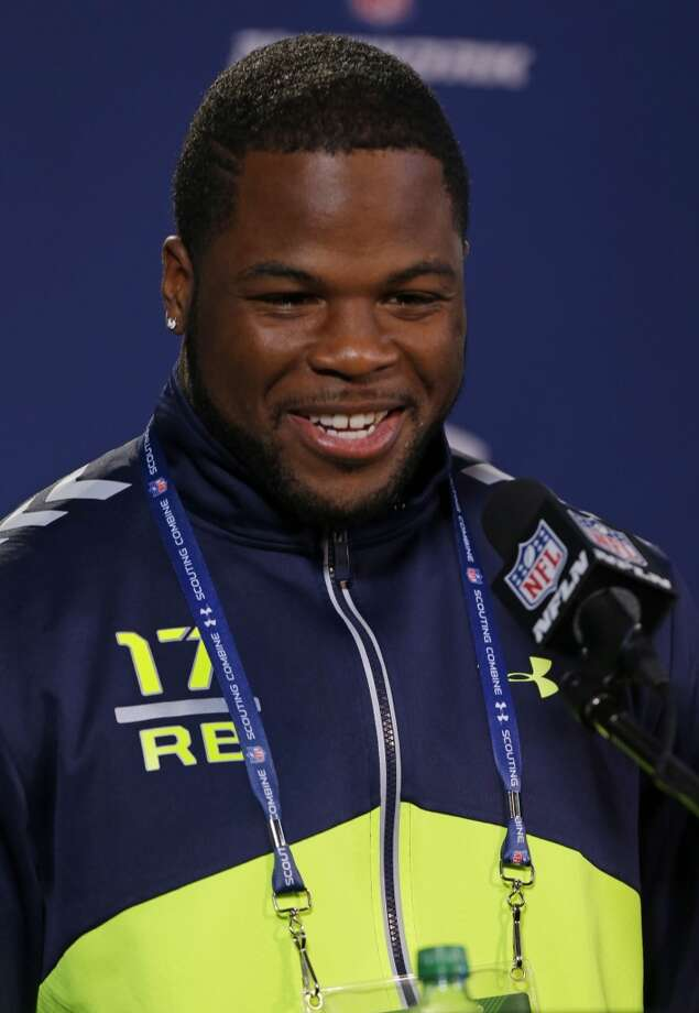 Ohio State running back Carlos Hyde answers a question. Photo: Michael Conroy, Associated Press