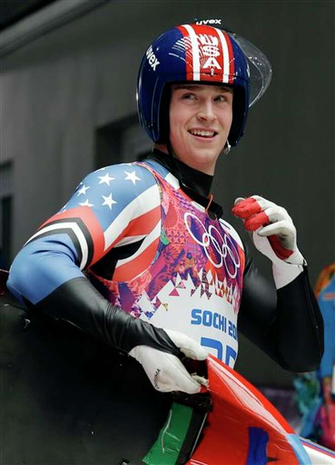 Ridgefield, CT. native Tucker West competed in the Sochi Winter Olympics as a member of the U.S. luge team.