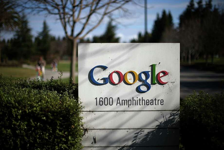 MOUNTAIN VIEW, CA - JANUARY 30:  A sign is posted outside of Google headquarters on January 30, 2014 in Mountain View, California. Google reported a 17 percent rise in fourth quarter earnings with profits of $3.38 billion, or $9.90 a share compared to $2.9 billion, or $8.62 per share one year ago.  (Photo by Justin Sullivan/Getty Images) Photo: Justin Sullivan / 2014 Getty Images