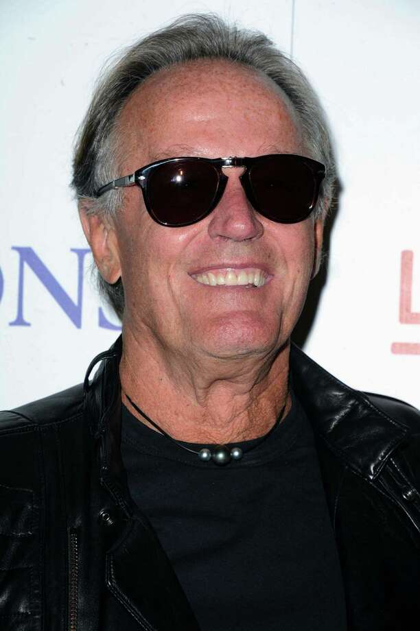 "Peter Fonda attends the LA premiere of ""The Sessions"" Wednesday, Oct. 10, 2012 at the L.A. Country Museum of Art on  in Los Angeles. (Photo by Katy Winn/Invision/AP) Photo: Katy Winn / Invision"