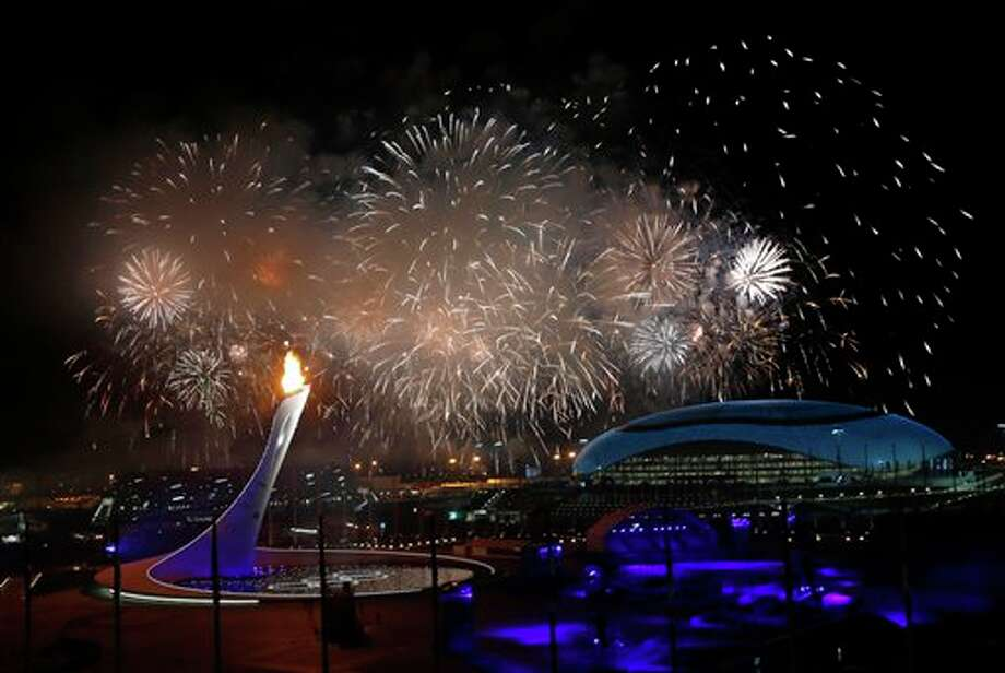 Opening ceremony of the Sochi Winter Olympic games. / AP2014