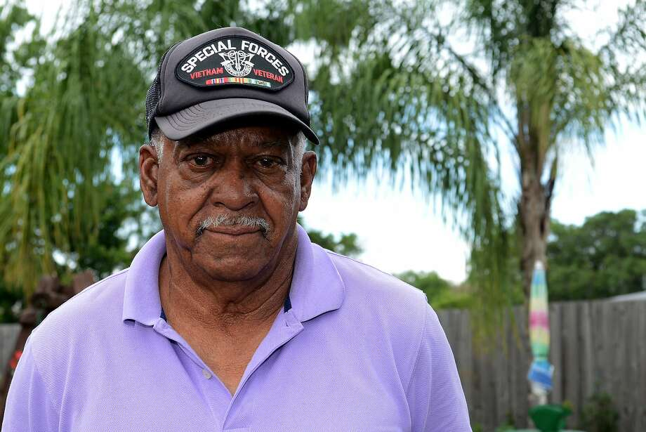 Vietnam vet Melvin Morris, now 72, got a call from President Obama. Photo: Uncredited, Associated Press