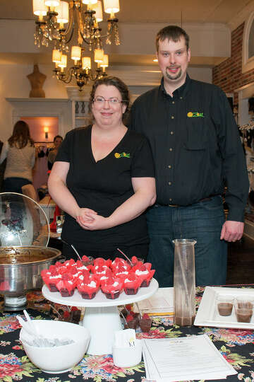 Zest Catering of Ballston Spa took home honors for favorite savory dish during the recent Ballston S