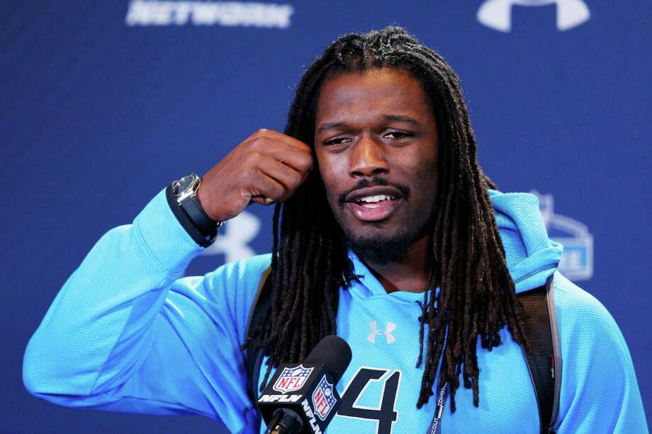 South Carolina defensive star Jadeveon Clowney told the media Saturday his goal is to be the No. 1 pick. Photo: Joe Robbins, Stringer / 2014 Getty Images