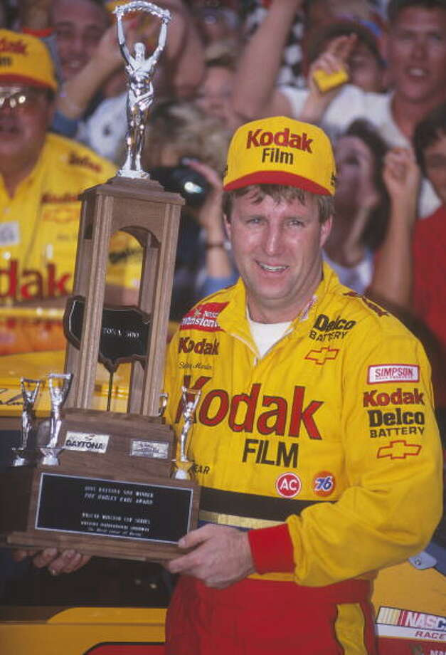 1995: Sterling Marlin Driving a Chevrolet Starting position: 3 Second Daytona 500 win Photo: Focus On Sport, Getty Images / 1995 Focus on Sport