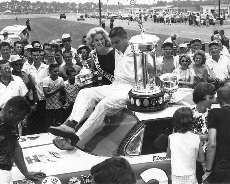 1962: Ed Fireball Roberts Driving a PontiacStarting position: Pole Photo: RacingOne, Getty Images / 2010 RacingOne
