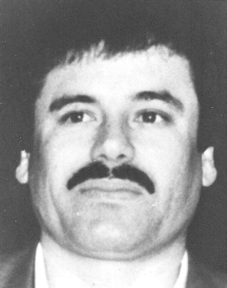 "This undated file image released by Mexico's Attorney General's Office on May 31, 1993, shows drug lord Joaquin ""El Chapo"" Guzman at an undisclosed location. A senior U.S. law enforcement official said Saturday, Feb. 22, 2014 that Guzman, the head of Mexico's Sinaloa Cartel, was captured alive overnight in the beach resort town of Mazatlan. Guzman faces multiple federal drug trafficking indictments in the U.S. and is on the Drug Enforcement Administration's most-wanted list.  Photo: Anonymous, HOPD / Procuraduria General de la Repub"