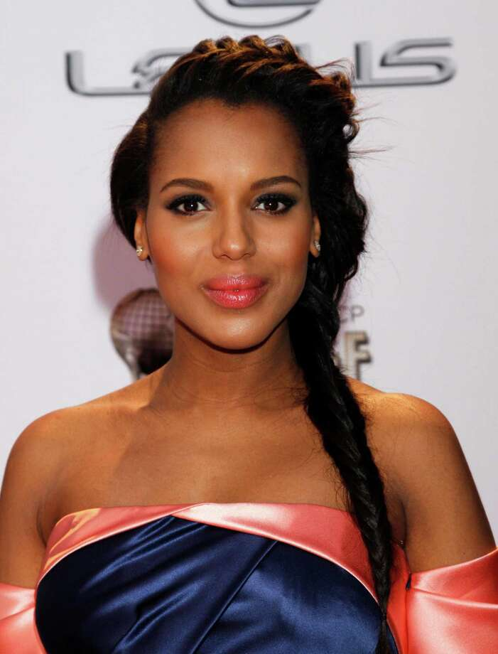 Kerry Washington arrives at the 45th NAACP Image Awards at the Pasadena Civic Auditorium on Saturday, Feb. 22, 2014, in Pasadena, Calif. (Photo by Arnold Turner/Invision/AP) ORG XMIT: CACJ133 Photo: Arnold Turner / Invision