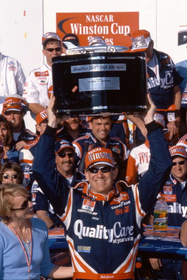 2000:  Dale Jarrett Driving a Ford Starting position: Pole Third Daytona 500 win Photo: RacingOne, Getty Images / 2011 RacingOne