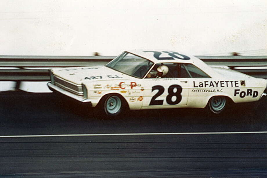 1965: Fred Lorenzen Driving a FordStarting position: 4 Photo: RacingOne, Getty Images / 2012 RacingOne