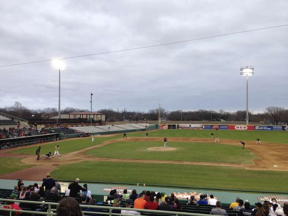 Incarnate Word and Notre Dame play during the Irish Baseball Classic, played at Wolff Stadium, on Saturday, Feb. 22, 2014. Photo: San Antonio Express-News
