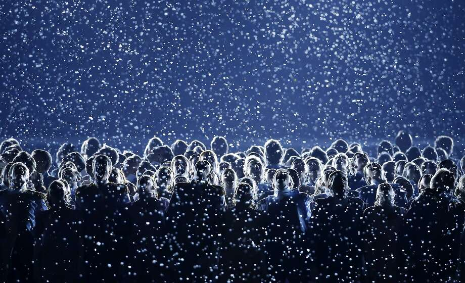 Artists perform during the opening ceremony of the 2014 Winter Olympics in Sochi, Russia, Friday, Feb. 7, 2014.  Photo: Mark Humphrey, Associated Press