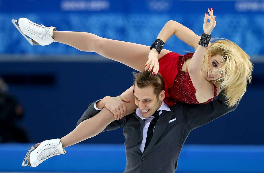 Isabella Tobias and Deividas Stagniunas of Lithuania compete in the Figure Skating Ice Dance Free Dance on Day 10 of the Sochi 2014 Winter Olympics at Iceberg Skating Palace on February 17, 2014 in Sochi. Photo: Ryan Pierse, Getty Images