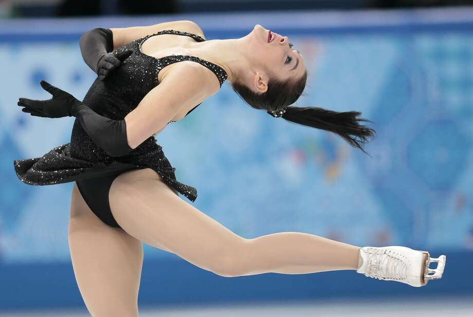Kaetlyn Osmond of Canada competes in the women's short program figure skating competition at the Iceberg Skating Palace during the 2014 Winter Olympics, Wednesday, Feb. 19, 2014, in Sochi, Russia. (AP Photo/Ivan Sekretarev) Photo: Ivan Sekretarev, Associated Press