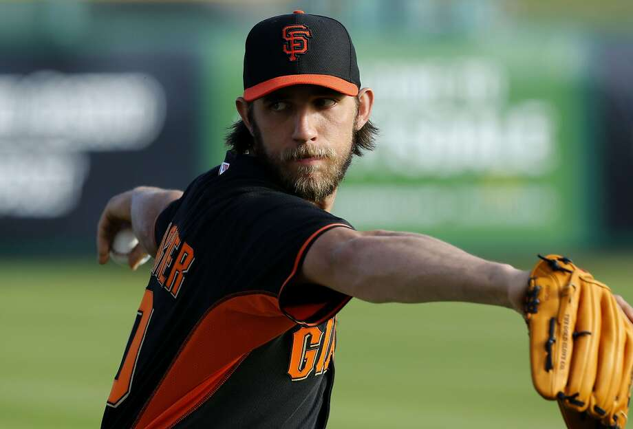 Giants left-hander Madison Bumgarner was an All-Star last season, going 13-9 with 199 strikeouts and a 2.77 ERA. Photo: Michael Macor, The Chronicle