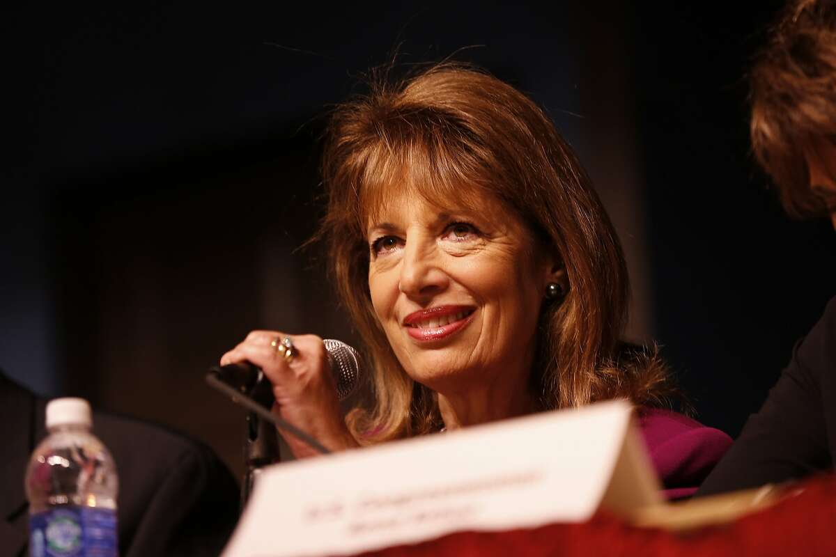 U.S. Rep. Jackie Speier (D-CA) listens at a forum on the accreditation process for California Community Colleges at the City College of San Francisco in San Francisco, Calif. on Thursday, Nov. 7, 2013.