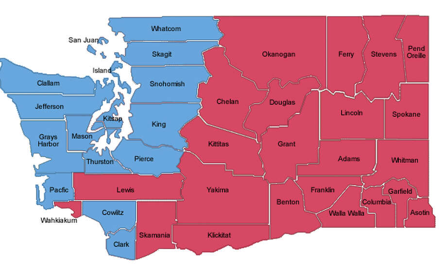 Thinking about Eastern Washington voters … sure we believe in democracy and all, but come on!!!