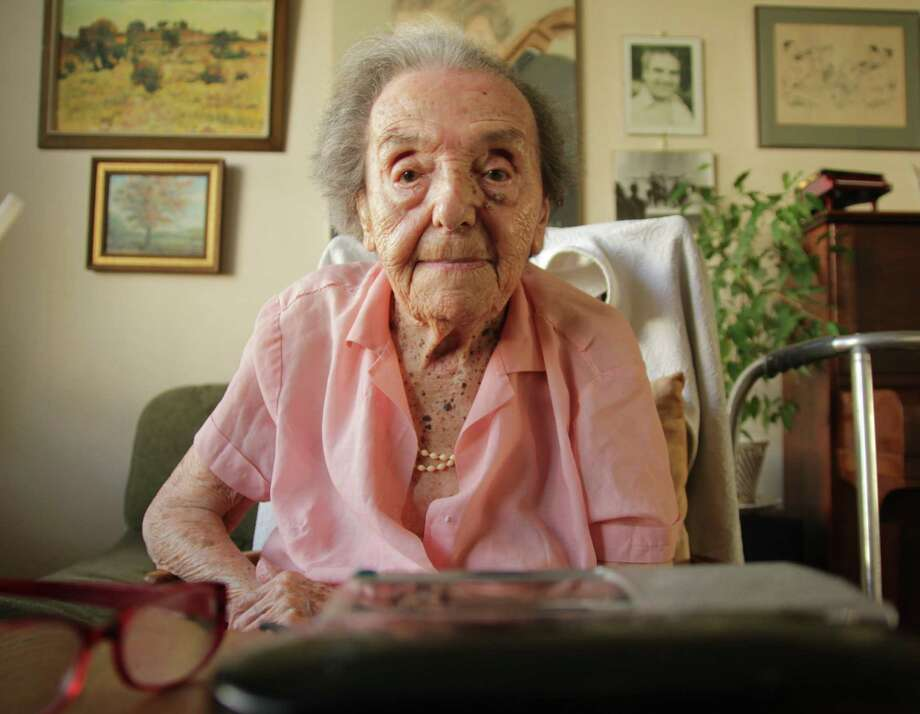 """""""The Lady in Number 6: Music Saved My Life,"""" the life story of Alice Herz-Sommer, the oldest-known Holocaust survivor who died at 110, is up for an Oscar for best documentary. Photo: Associated Press / Bunbury Films"""