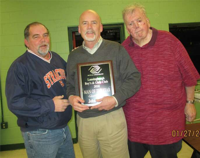 Joe Manupella  John Conroy, who joined the Lansingburgh Boys Club 50 years ago, was named the 2014 M