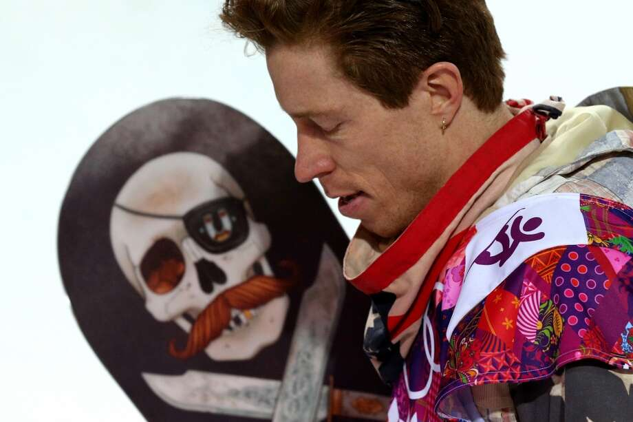 Shaun White of the United States reacts after competing in the Snowboard Men's Halfpipe Finals on day four of the Sochi 2014 Winter Olympics at Rosa Khutor Extreme Park on February 11, 2014 in Sochi, Russia. Photo: Cameron Spencer, Getty Images