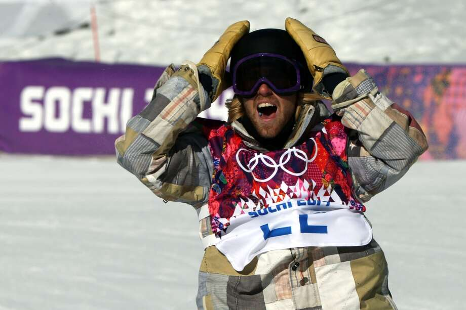Sage Kotsenburg of USA takes 1st place  during the Snowboarding Men's Slopestyle at the Rosa Khutor Extreme Park on February 08, 2014 in Sochi, Russia. Photo: Christophe Pallot/Agence Zoom, Getty Images