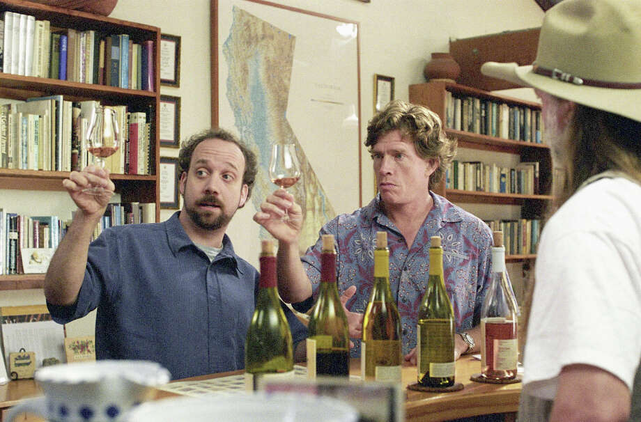 "The 2004 movie ""Sideways"" is the one movie everybody brings up when talking about wine and movies.  Photo: Merie W. Wallace, AP / FOX SEARCHLIGHT PICTURES"