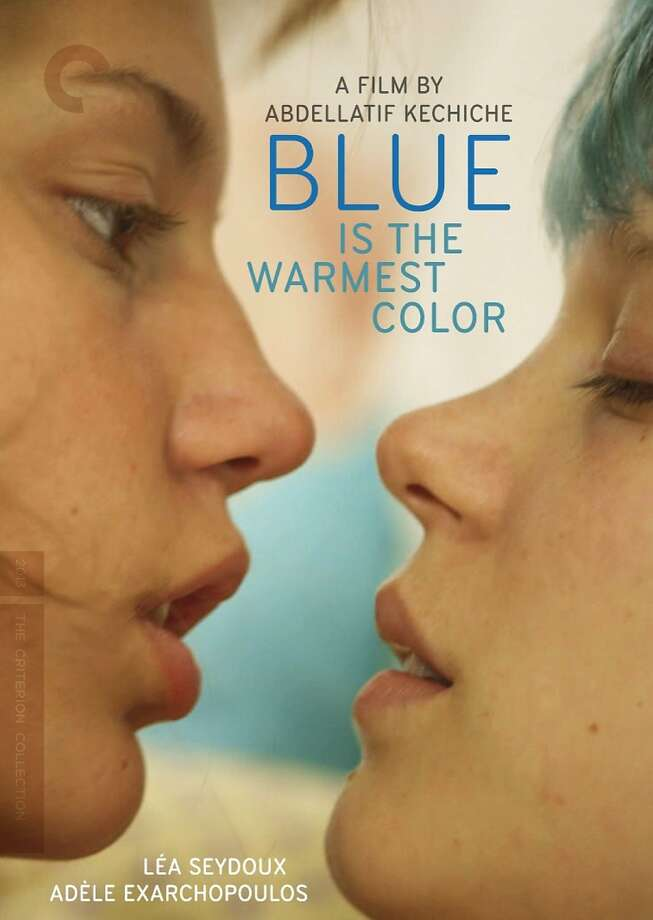 "dvd cover: ""Blue Is the Warmest Color"" Photo: Criterion Collection, Amazon.com"