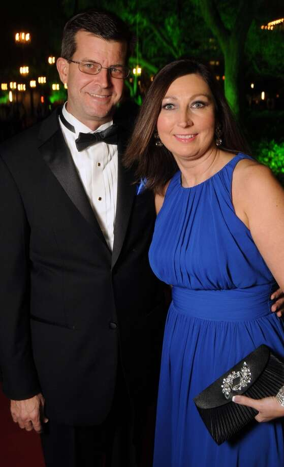 Carla and Rick Galyean (Photo by Dave Rossman/For the Chronicle) Photo: Dave Rossman, For The Houston Chronicle