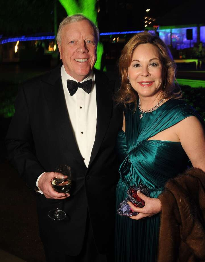 Nancy and Rich Kinder (Photo by Dave Rossman/For the Chronicle) Photo: Dave Rossman, For The Houston Chronicle