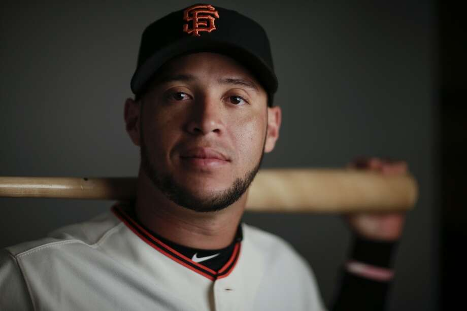 This is a 2014 photo of Gregor Blanco of the San Francisco Giants baseball team. Photo: Gregory Bull, Associated Press