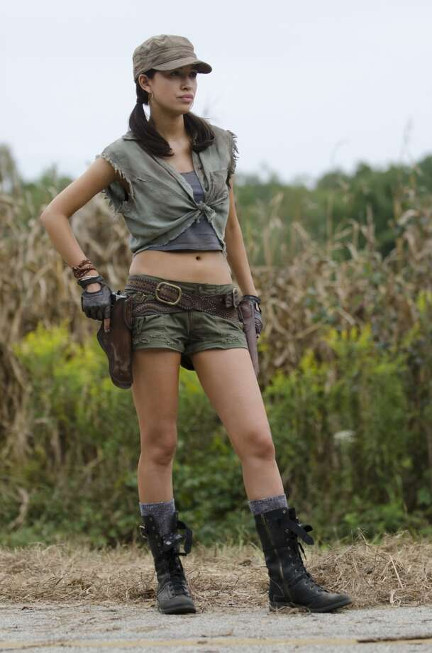 Rosita Espinosa (Christian Serratos) - The Walking Dead _ Season 4, Episode 11 - Photo Credit: Gene Page/AMC