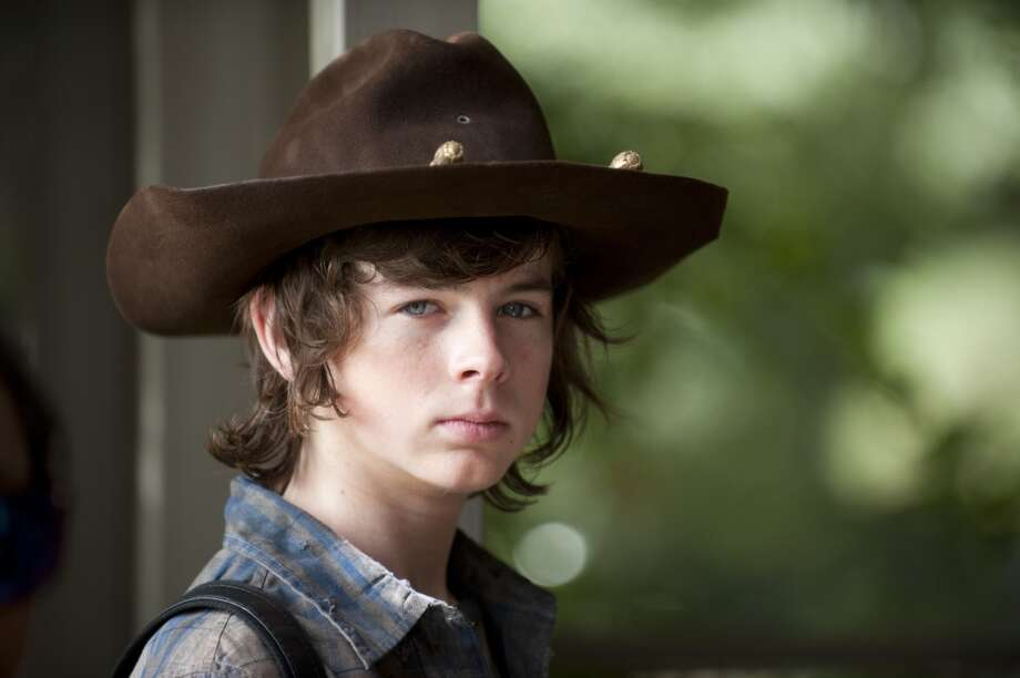 Carl Grimes (Chandler Riggs) - The Walking Dead _ Season 4, Episode 11 - Photo Credit: Gene Page/AMC