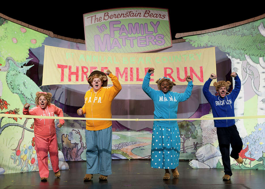 """The Berinstain Bears Live!"" on March 8 is part of the nine show children's series at the Ridgefield Playhouse this season. Photo: Contributed Photo / Connecticut Post Contributed"