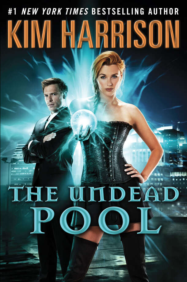 """The Undead Pool"" is the next to the last novel in Kim Harrison's bestselling ""Hollows"" series. The writer will be doing a talk and signing at the Ridgefield Library on Tuesday, March 4. Photo: Contributed Photo / Connecticut Post Contributed"