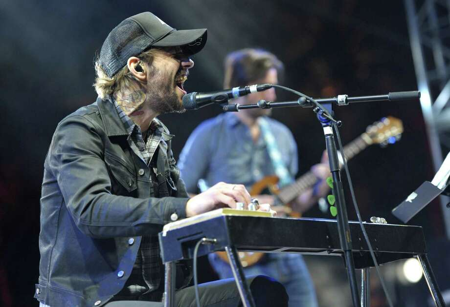 Ben Bridwell of Band of Horses performs at the second weekend of the 2013 Coachella Valley Music and Arts Festival at the Empire Polo Club on Friday, April 19, 2013 in Indio, Calif. (Photo by John Shearer/Invision/AP) Photo: John Shearer / Invision