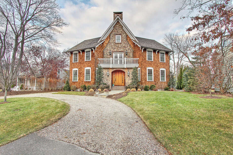 The house at 47 Colonial Drive is on the market for $2,395,000. Photo: Contributed Photo / Fairfield Citizen contributed