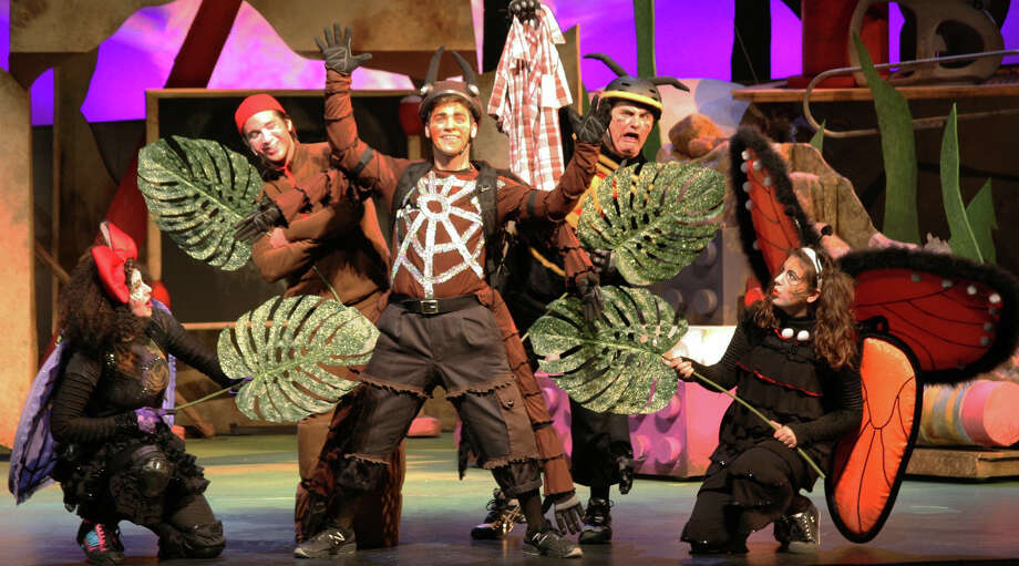 The ìDiary of a Worm, a Spider, and a Fly,î a musical  based on the books by Doreen Cronin and Harry Bliss, is coming to the Westport Country Playhouse on Sunday, March. 9. Photo: Contributed Photo / Westport News
