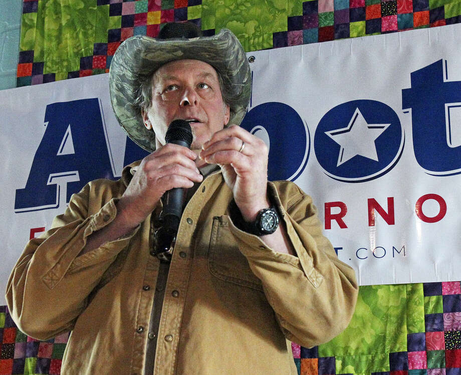 A reader  expresses outrage that GOP gubernatorial candidate Greg Abbott would accept the support of Ted Nugent. Photo: Tom Reel / San Antonio Express-News