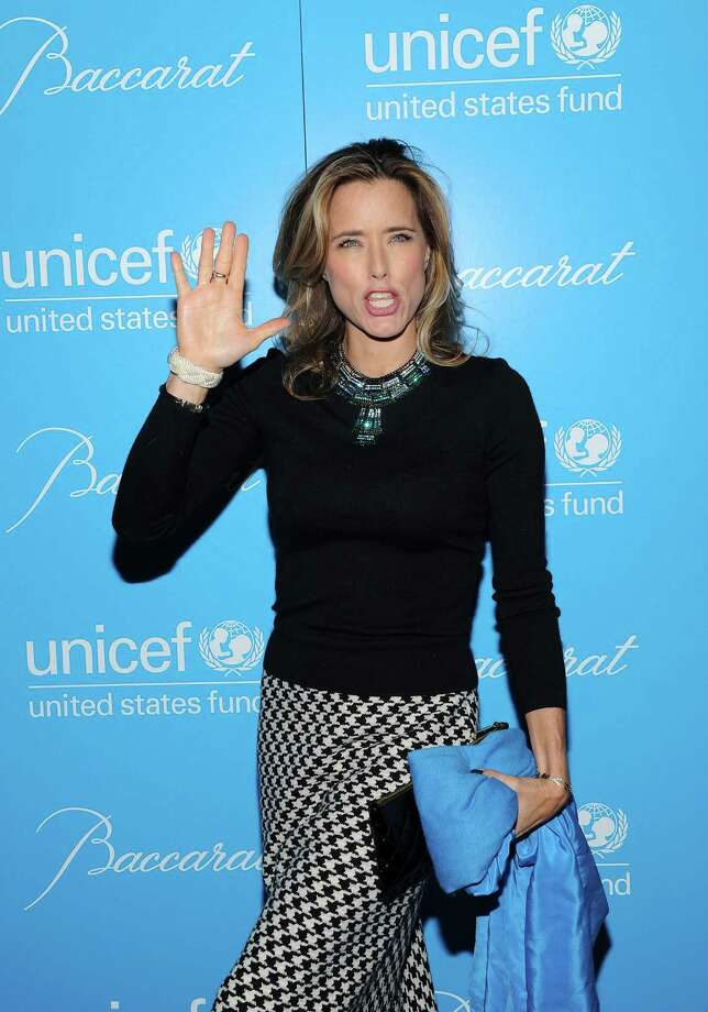 Actress Tea Leoni attends the 8th Annual UNICEF Snowflake Ball at Cipriani 42nd Street on Tuesday Nov. 27, 2012 in New York. (Photo by Evan Agostini/Invision/AP) Photo: Evan Agostini / Invision