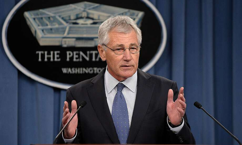 "Defense Secretary Chuck Hagel calls for shrinking the Army even as the military confronts a ""more volatile"" world. Photo: Olivier Douliery, McClatchy-Tribune News Service"