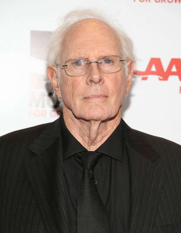 Here is Bruce Dern at AARP's Movies For Grownups Awards Gala in 2014. Photo: Imeh Akpanudosen, Getty Images
