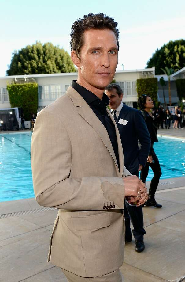 Matthew McConaughey at the Academy Awards nominees luncheon in 2014. Photo: Kevork Djansezian, Getty Images