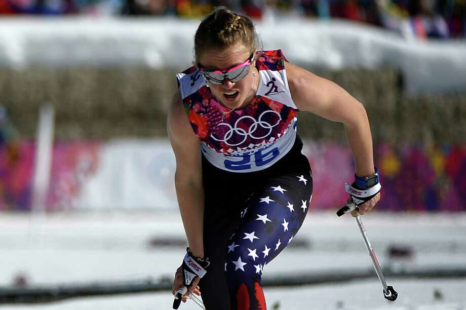 Sadie BjornsenSport: Cross-country skiingAge: 24Results: 9th place (ladies' relay 4x5km), 18th place (ladies' 10km classic), 31st place (ladies' skiathlon 7.5km classic + 7.5km free)Local connection: Grew up in Winthrop, skiing in the Methow Valley. Sister of teammate Erik Bjornsen. Photo: PIERRE-PHILIPPE MARCOU, AFP/Getty Images / 2014 AFP