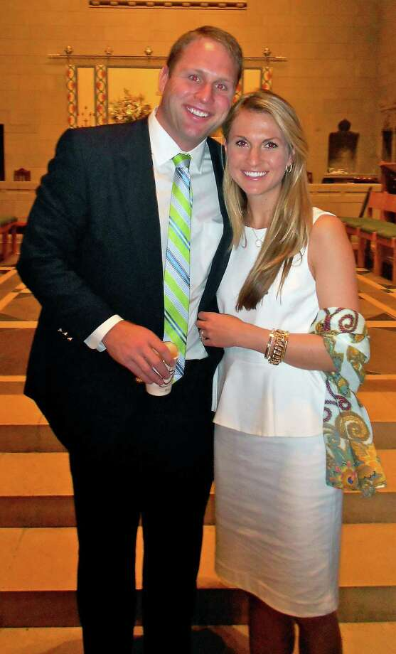 Anne Russell and Andrew Urquhart are engaged to be married. Photo: Contributed Photo / Fairfield Citizen contributed